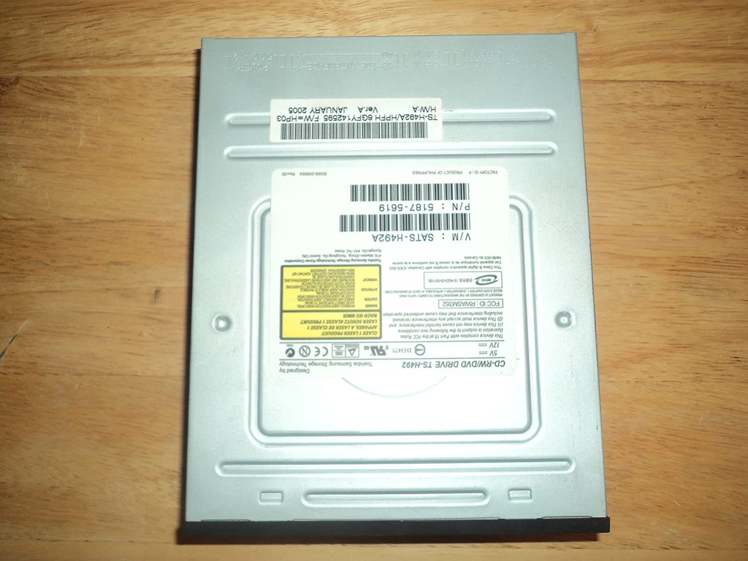 DOWNLOAD DRIVERS: DVD TS H492A