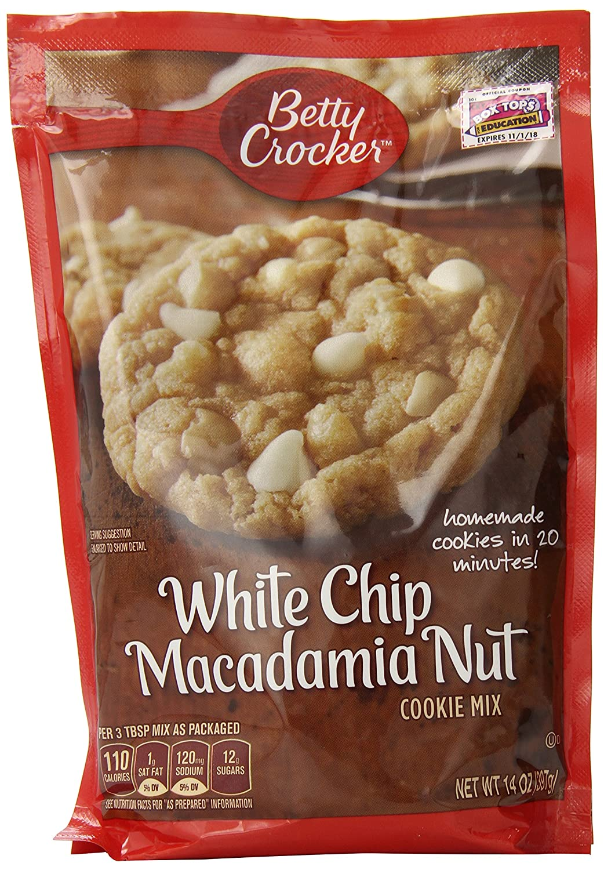 Amazon.com : Betty Crocker Cookie Mix White Chip Macadamia Nut ...
