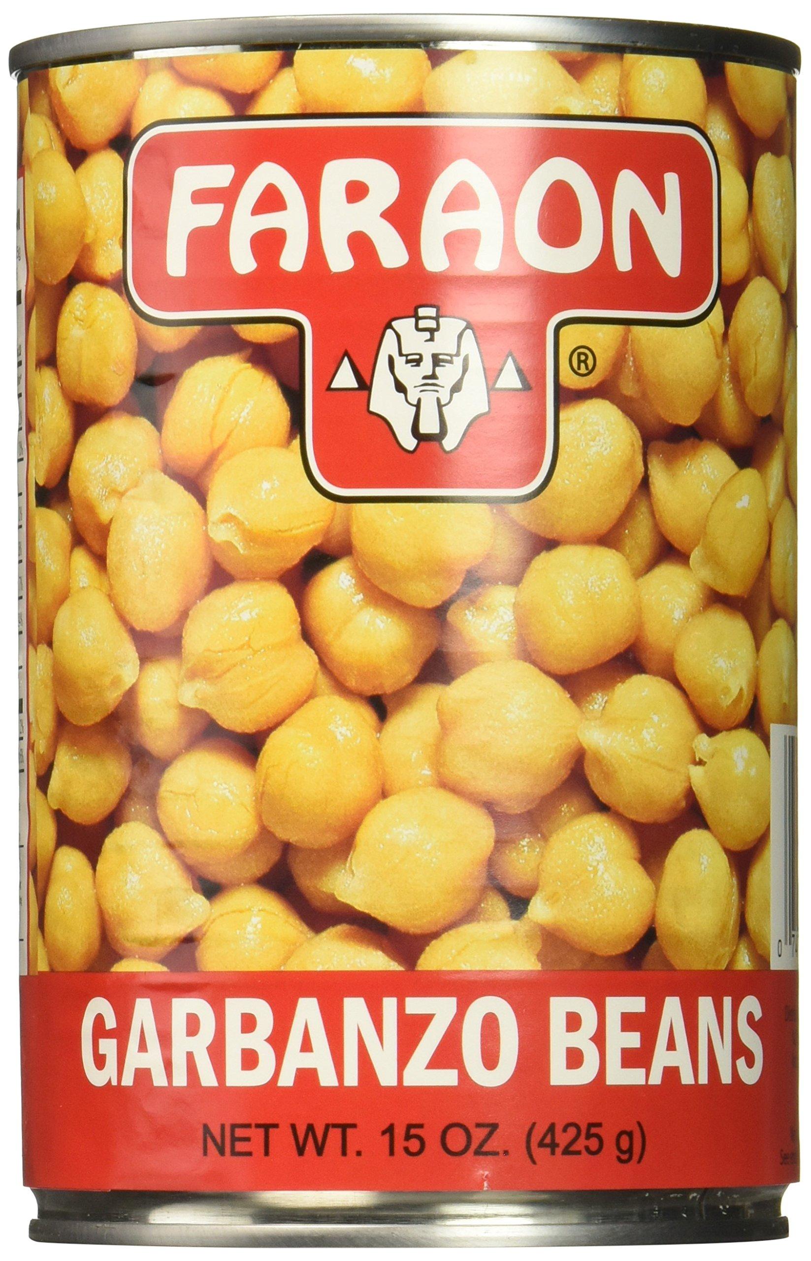 FARAON Garbanzos, 15 Ounce (Pack of 12)