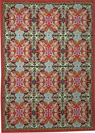Amazon Com Pasargad Aubusson Hand Woven New Zealand Wool Area Rug