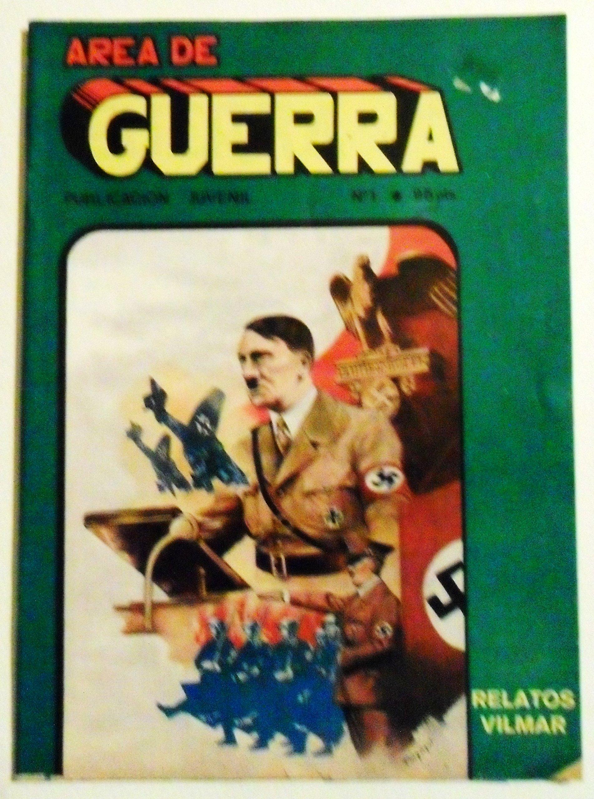 COMIC / AREA DE GUERRA, HOMBRE DE ACCION, PUBLICACION JUVENIL / VILMAR EDICIONES, Nº1, 1985.: Amazon.es: ANTONIO BUENO TELLO, EDICIONES VILMAR: Libros