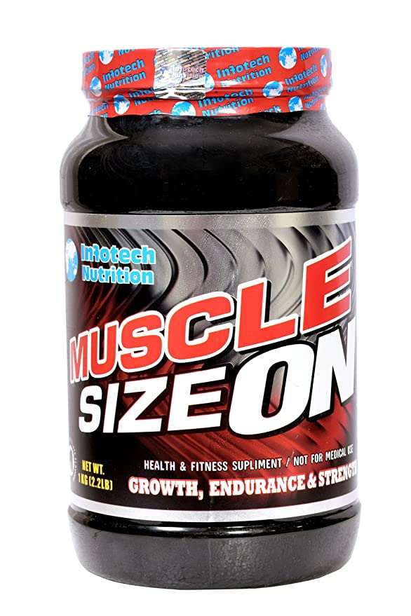 Buy Infotech Nutrition Muscle Size On - 1 Kg Online at Low Prices in