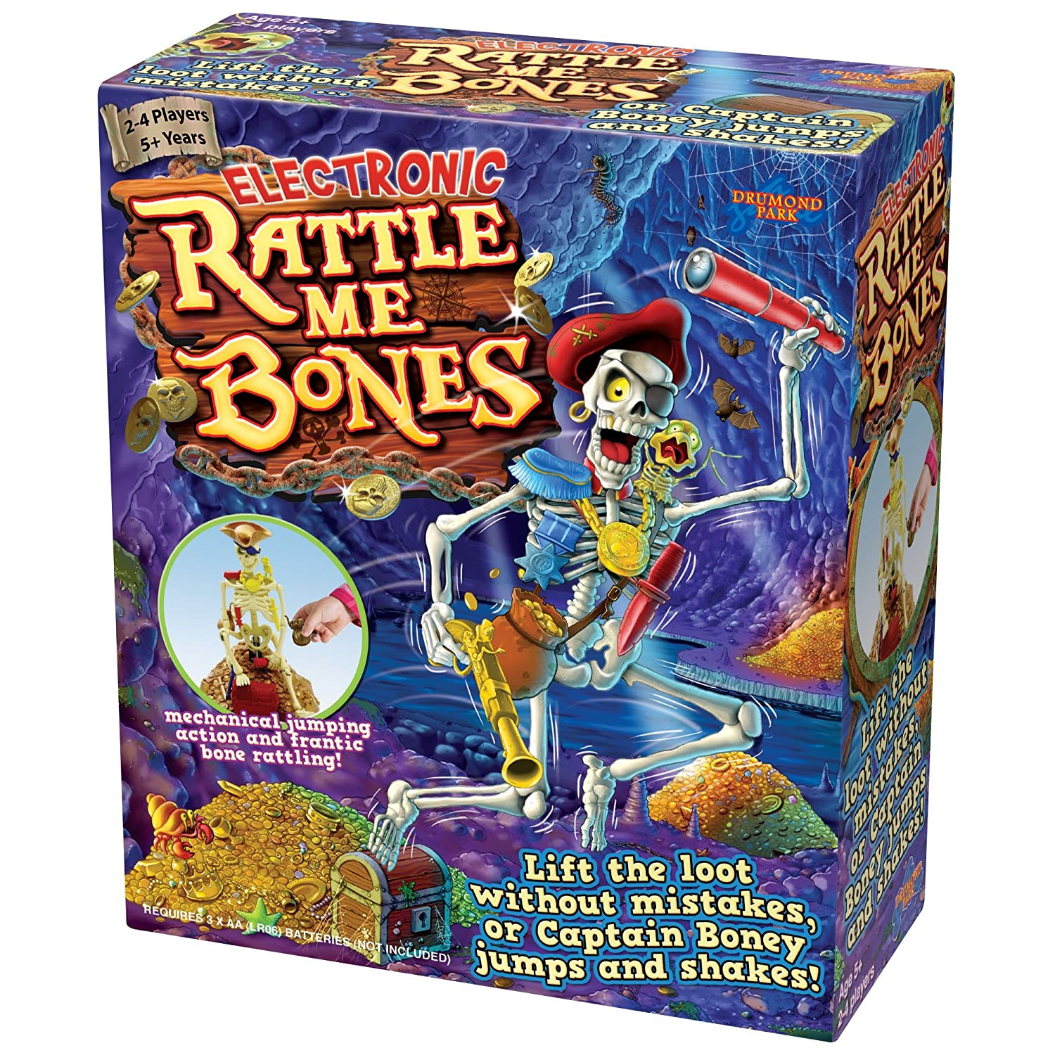 4b4c8230b25f DP Rattle Me Bones Action and Reflex Game  Amazon.co.uk  Toys   Games