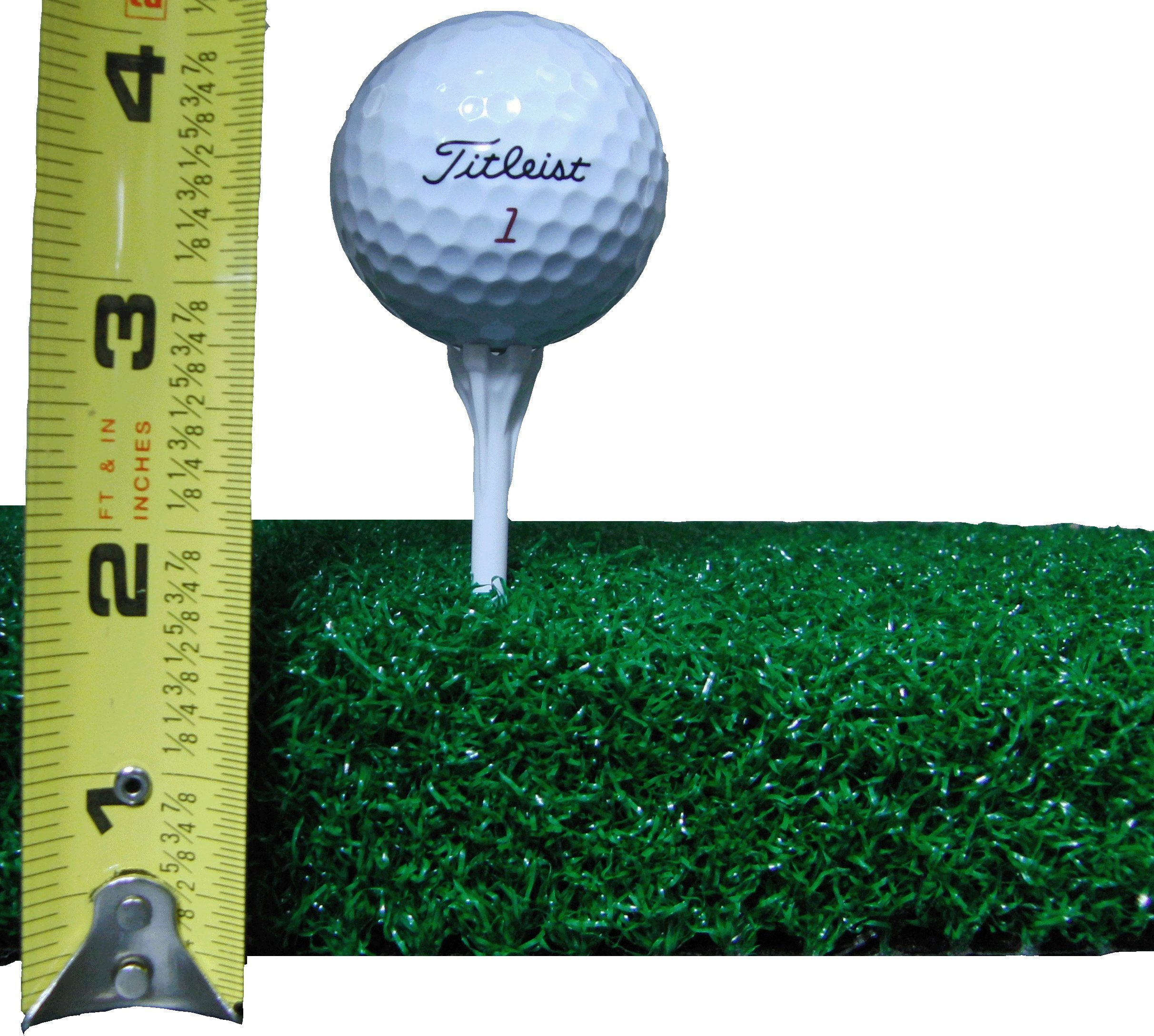 All Turf Mats 48'' X 60'' XL Super Tee Golf Mat - Holds Any Size Wooden Tee by All Turf Mats