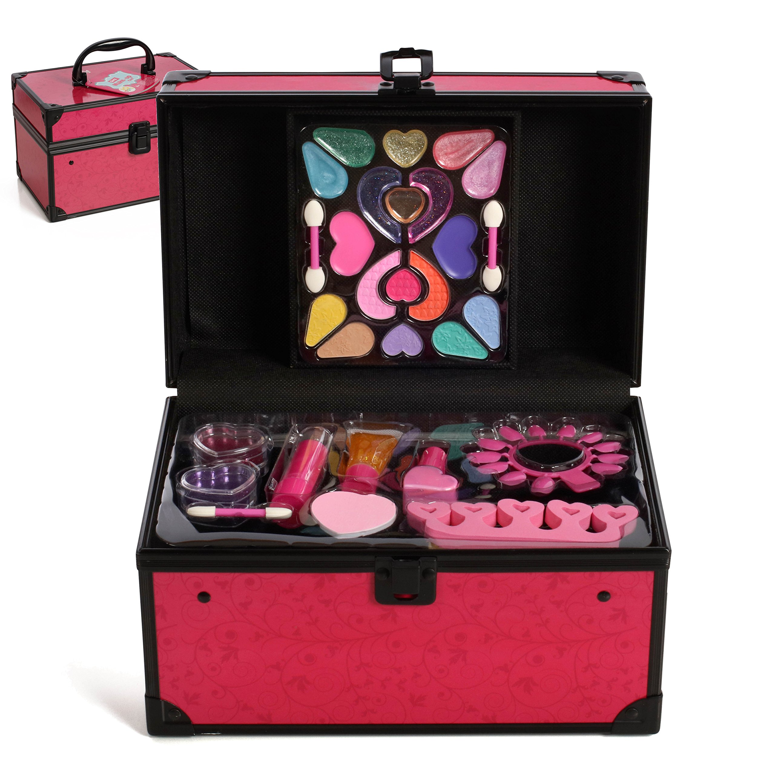 IQ Toys Deluxe All in One Travel Girls Makeup Set