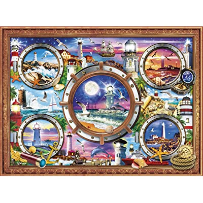 Buffalo Games - Marine Color - from Sea to Shining Sea - 1000 Piece Jigsaw Puzzle: Toys & Games