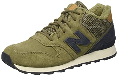 separation shoes 2219f 2f758 New Balance Women 996 Mid Hi-Top Sneakers, Green (Khaki), 5