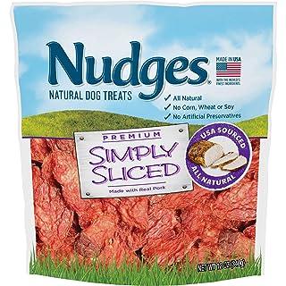 Nudges Simply Sliced Made with Real Pork Dog Treats, 12 oz
