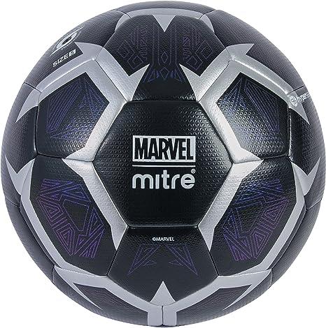 Mitre Panther - Balón de fútbol para niños, Color Negro y Plateado ...
