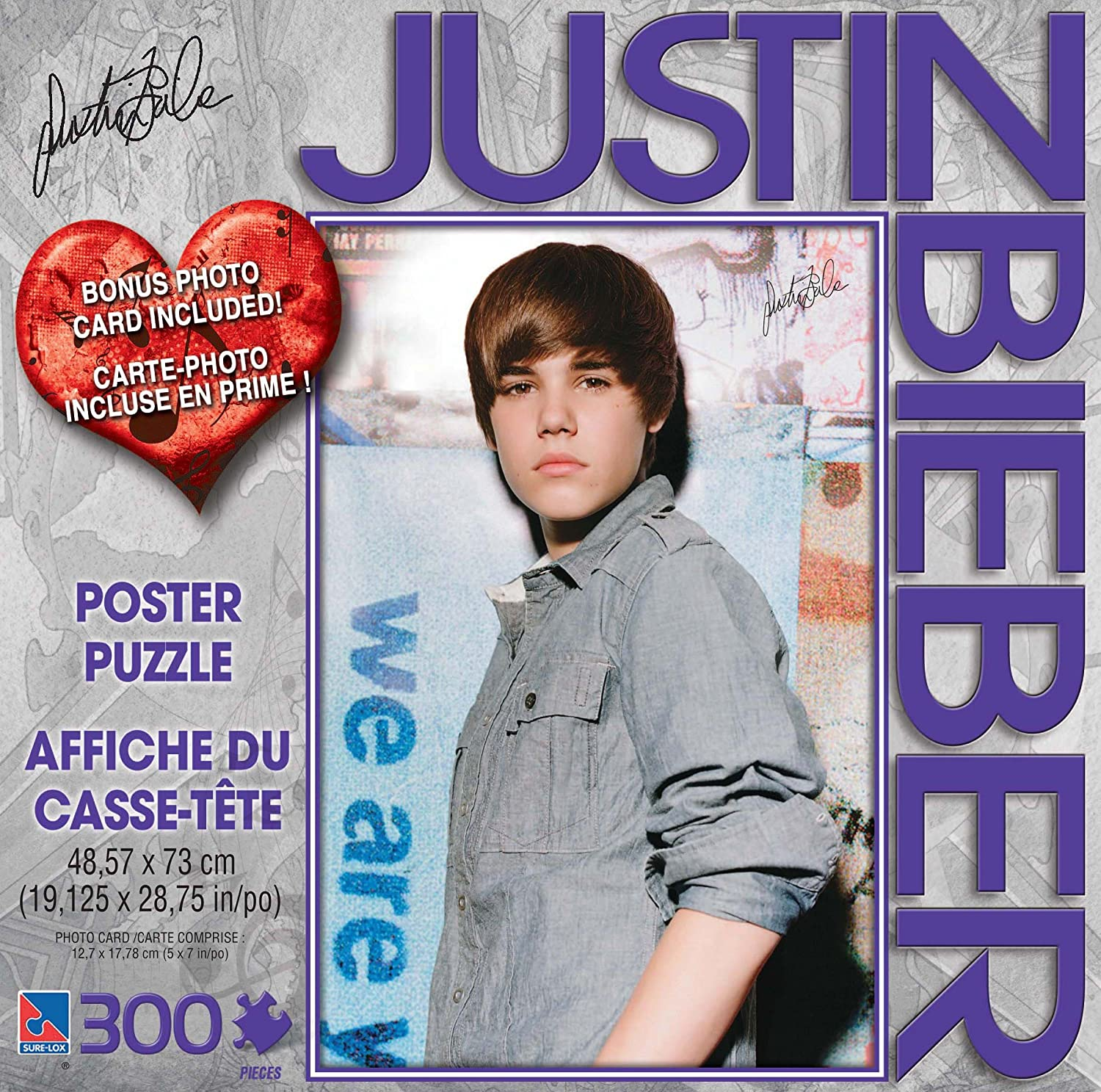 Justin Bieber Poster Puzzle Amazoncouk Toys Games