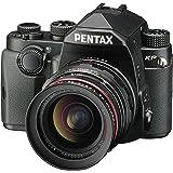 """Pentax Spiegelreflex Kamera mit KP Gehäuse (24MP, Live-view, Full HD, Pixelshift) und """"DAL 18-50mm WR"""" schwarz"""