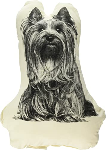 Areaware Fauna Pillow, Yorkshire Terrier