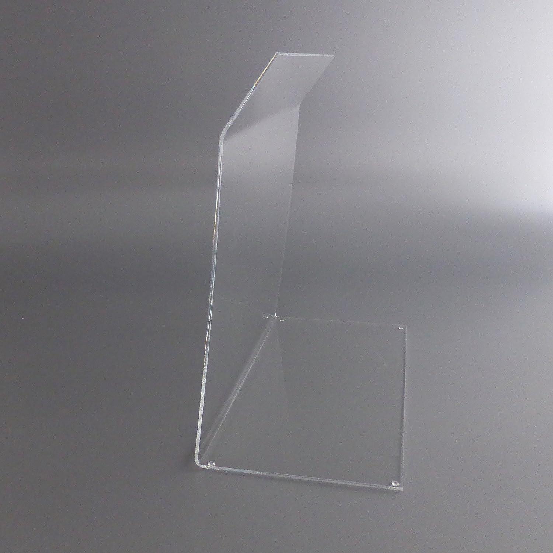 St/ärke 4mm L/änge 60cm A+H Spuckschutz Hustenschutz Typ 2 f/ür die Gastronomie aus PETG Verkaufstheke und Kuchen-Vitrine Glas Klar