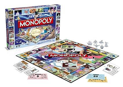Winning Moves Disney Classic Juego De Mesa Monopoly Edicion