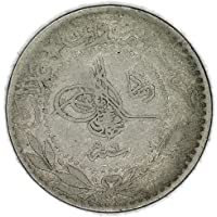 "1327 TR Mehmed V""Reshat"" Right of Toughra Para Good"