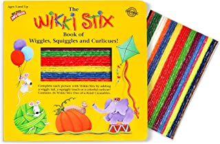 product image for WikkiStix Book of Wiggles, Squiggles, & Curlicues, Multi, (Model: 905)