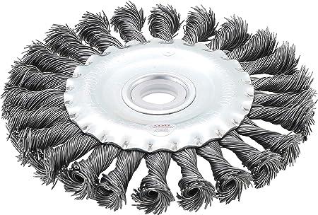 Zopfrundbürsten 115 mm Durchmesser BGS 3985 Scheibenbürste