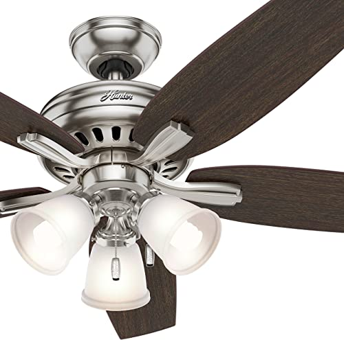 Hunter Fan 52 inch Brushed Nickel Ceiling Fan