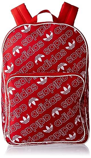 Adidas BP Class AC Gr Mochila Tipo Casual, 25 cm, 25 litros, Rojuni/Blanco: Amazon.es: Equipaje