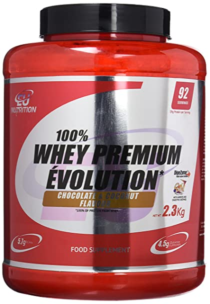 EU Nutrition 100% Whey Premium Évolution Chocolate Coconut ...