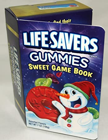 lifesavers gummies sweet game book 7oz candy book