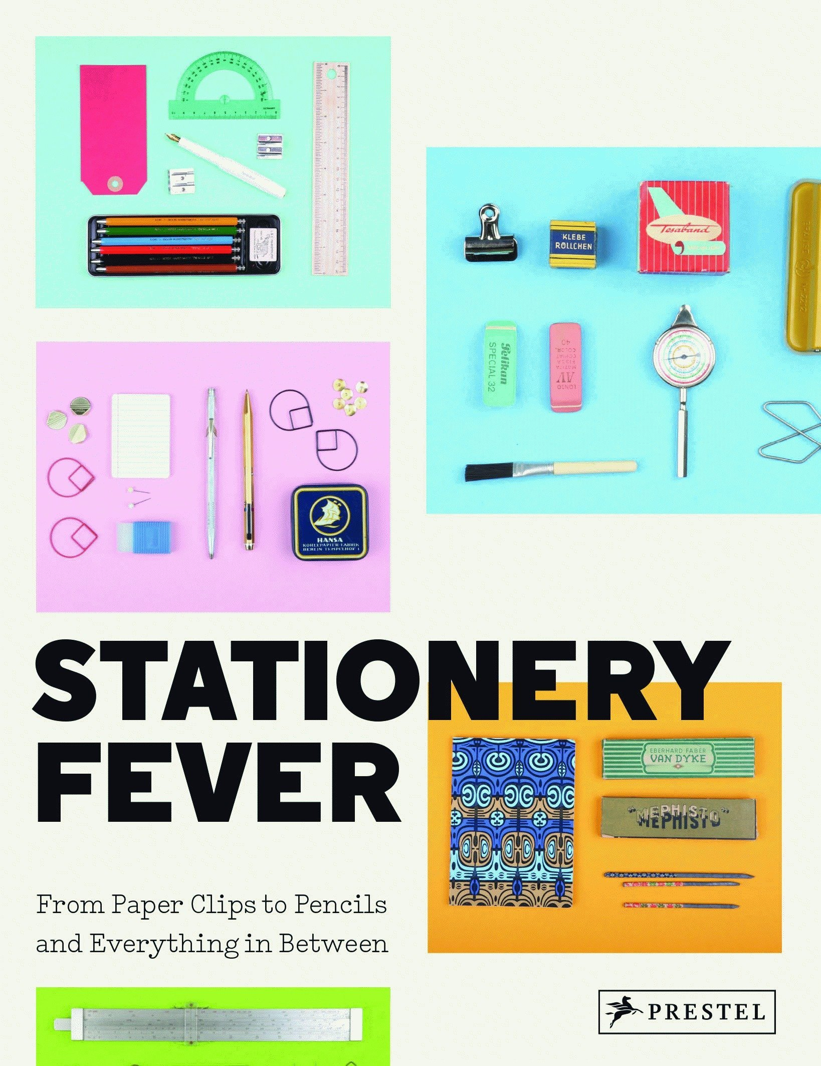 Stationery Fever: From Paper Clips to Pencils and Everything In Between:  John Z. Komurki, Angela Nicoletti, Luca Bendandi: 9783791382722:  Amazon.com: Books