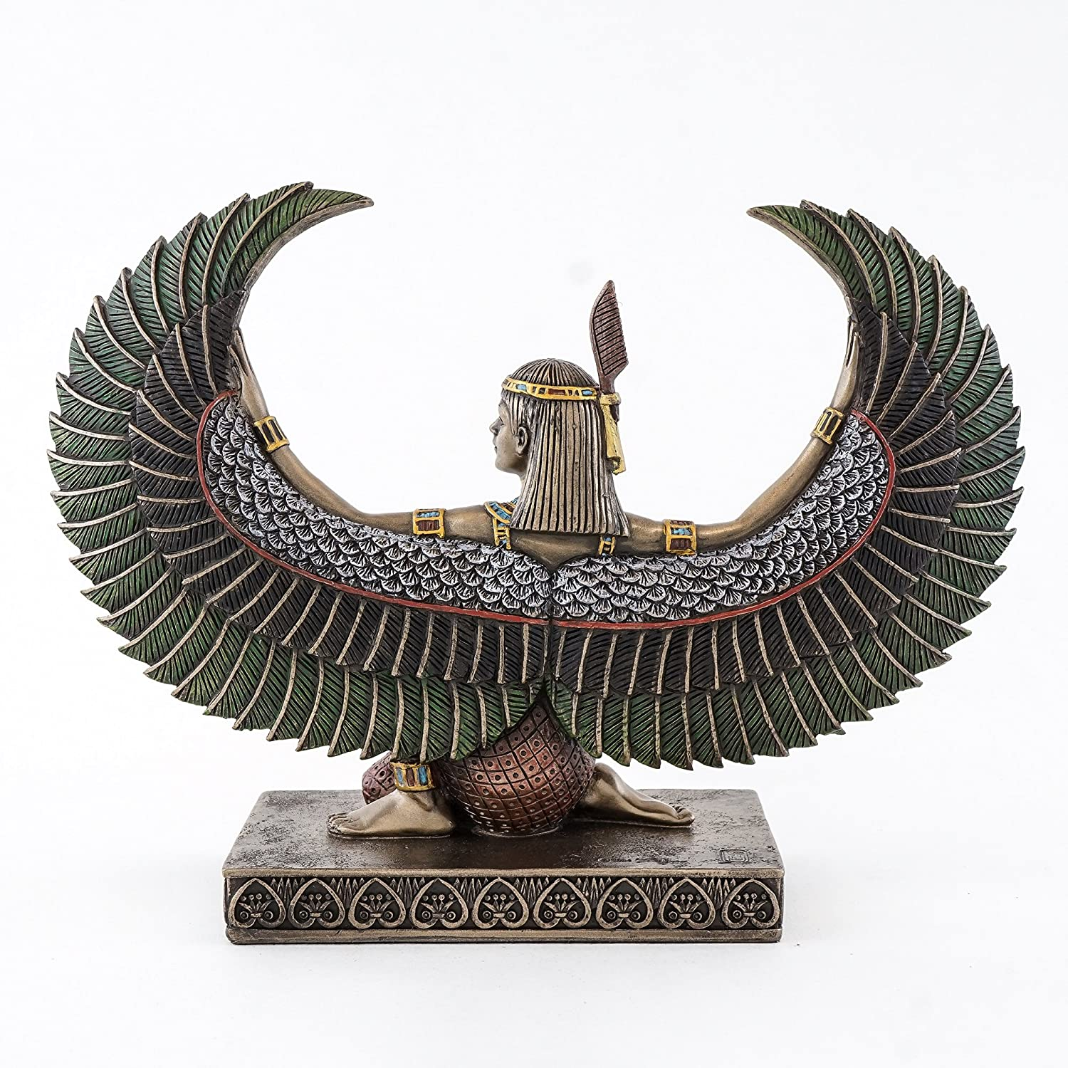 Sale Egyptian Style Winged Maat Sculpture by Francescaskitchen tl