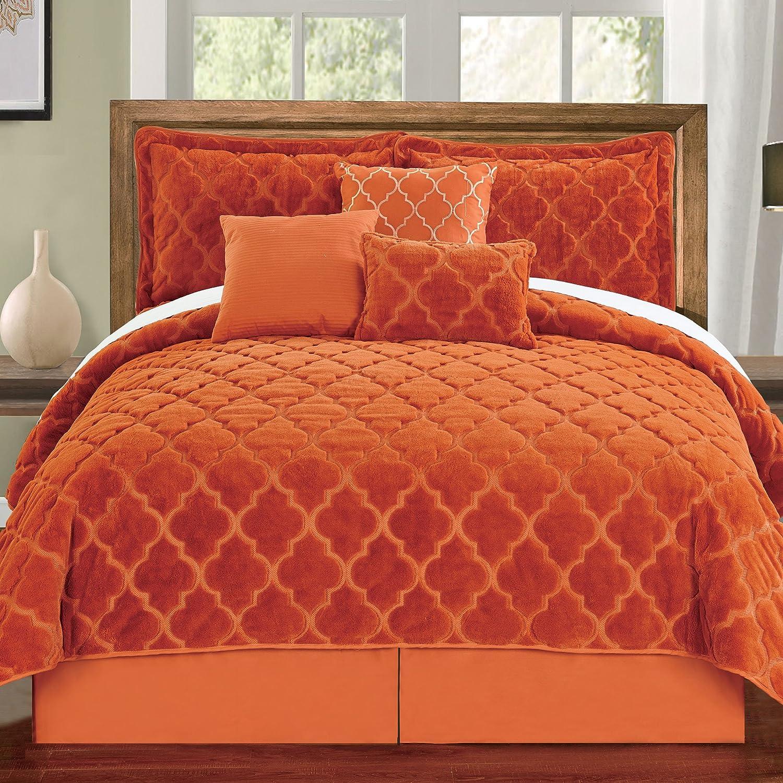 Burnt Orange Duvet Cover Sweetgalas