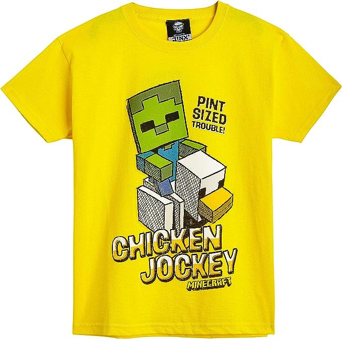 Minecraft Camiseta Niño, Ropa Niño Algodón 100%, Camisetas de ...