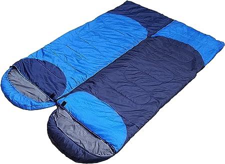 Saco de dormir ligero para campamentos, mochilear, para niños, hombres y mujeres, bajas temperaturas, ultraligero, compacto, plegable, con bolsa de ...
