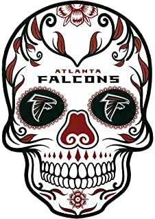 facf9410 Applied Icon NFL Unisex NFL Outdoor Small Dia De Los Muertos Skull Decal