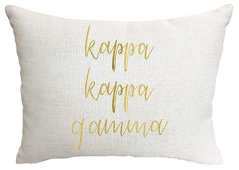 Amazon.com: Kappa Kappa Gamma Sorority - Almohada: Home ...