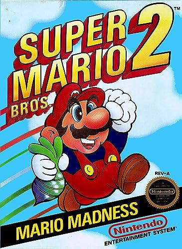 Amazon Com Super Mario Bros 2 Video Games