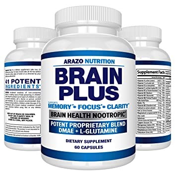 Amazon Com Premium Brain Function Supplement Memory Focus