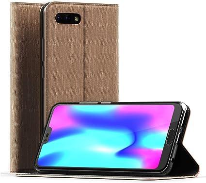 CELLONIC® Carcasa Compatible con Huawei Honor 10 Cuero PU Flip ...