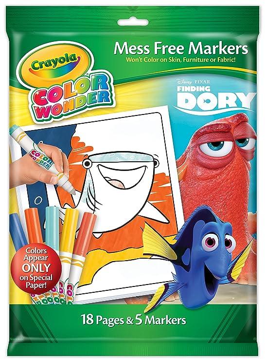 Amazon Crayola Frozen Color Wonder Overwrap Toys Games