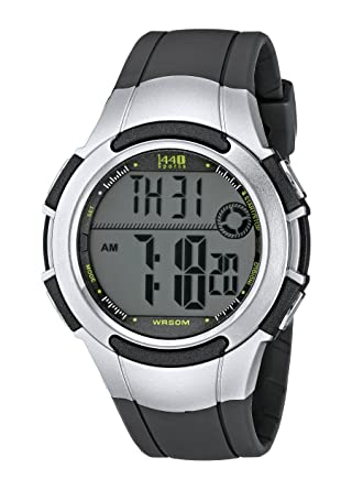 Timex Mens T5K238 1440 Two-Tone Sport Watch with Grey Resin Band