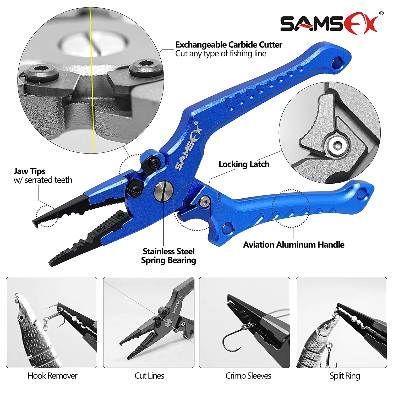 6pcs Durable Metal Carabiner Clip Style Spring Key Chain Keyring XDUK