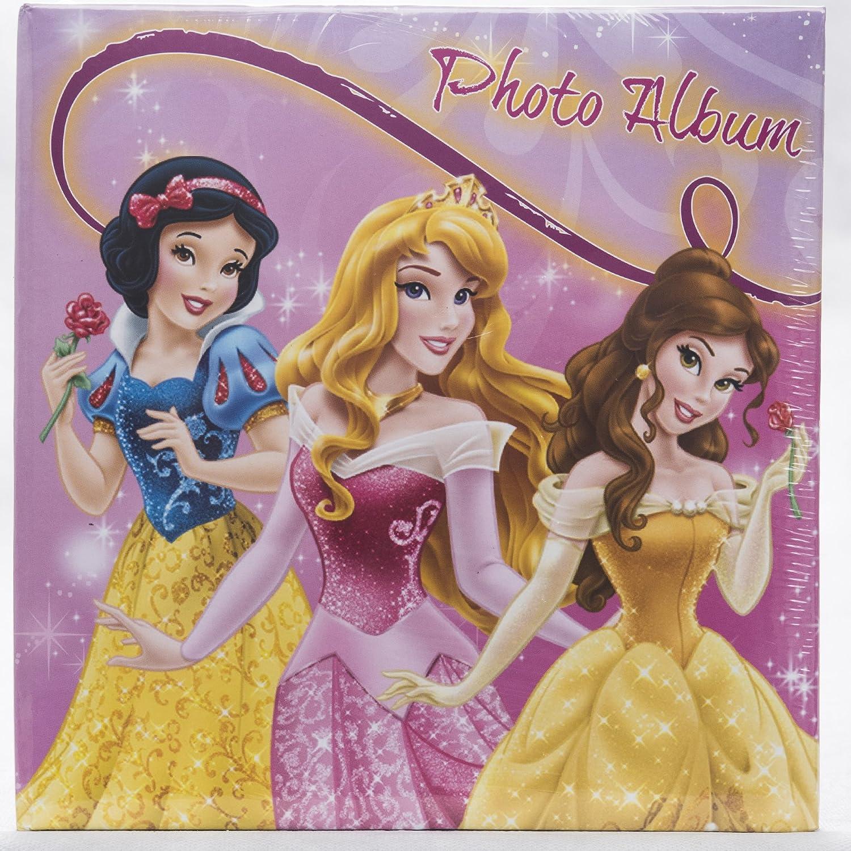 Rosa scuro Princess Castle Lebez Album Portafoto Disney Princess da 100 foto 13x19 con memo in 3 grafiche differenti