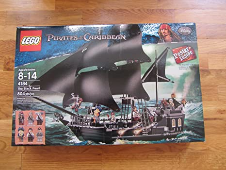 Genuine LEGO Part from Set 4184 The Black Pearl Ship/'s Flag