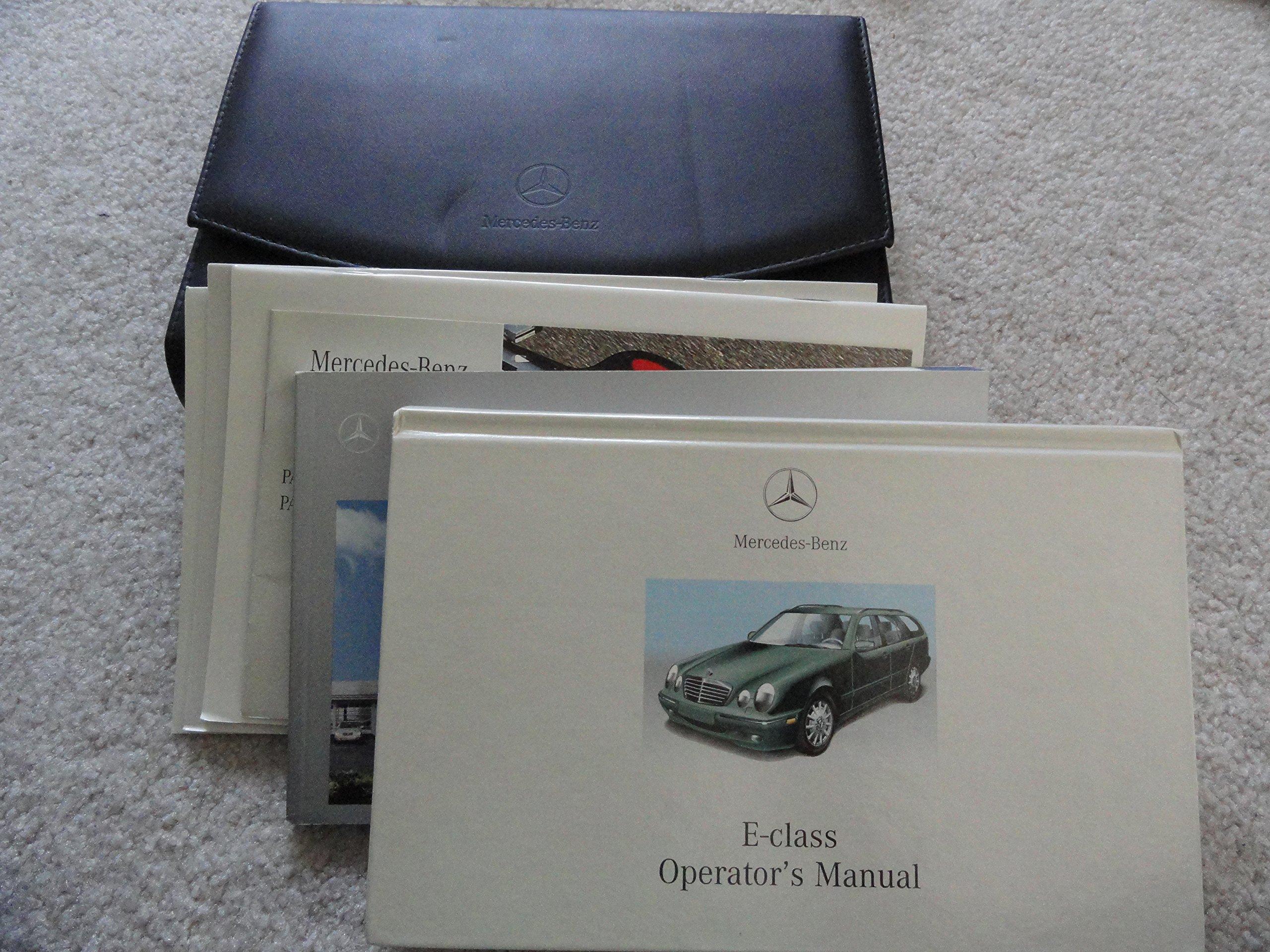 2001 mercedes benz e320 manual