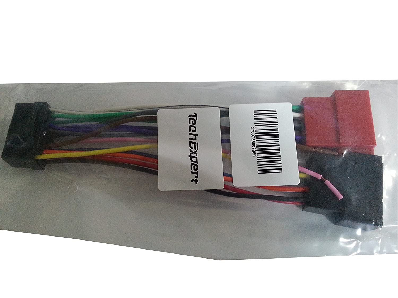 Kabel Anschluss Adapter ISO für Autoradio Sony: Amazon.de: Elektronik