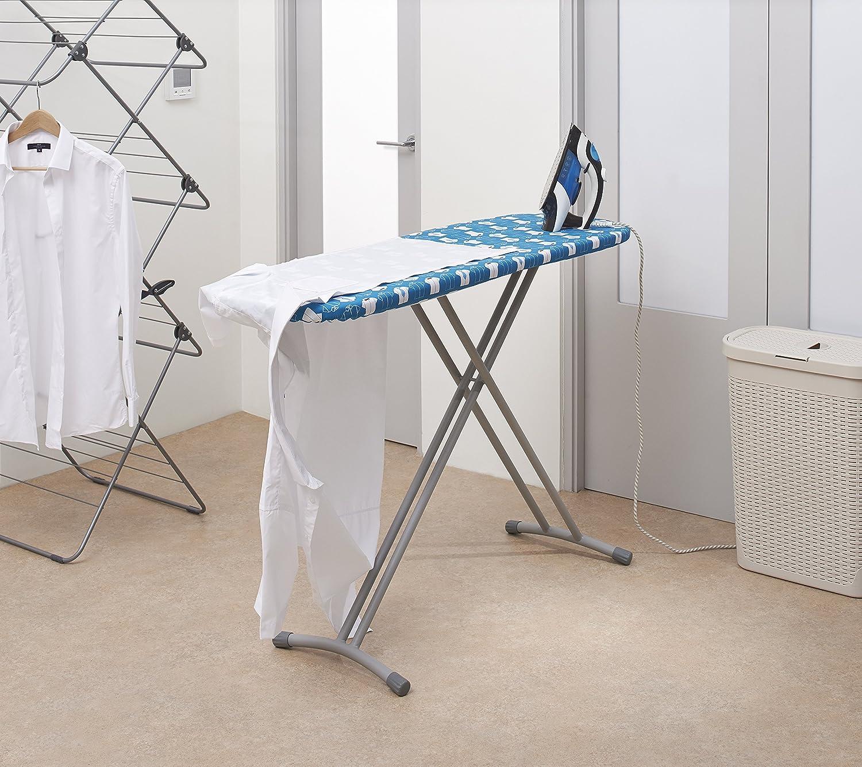 colore blu 125/x 41/cm Addis Shirtmaster Asse da stiro
