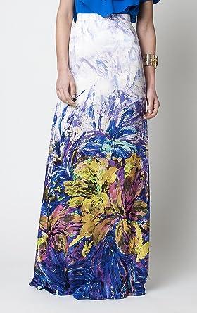 David Christian, falda larga, estampada, abertura: Amazon.es: Hogar