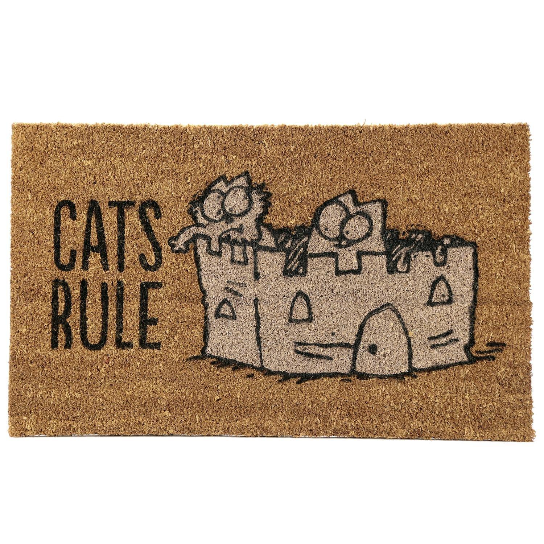Simon's Cat Fußmatte - Cats Rule