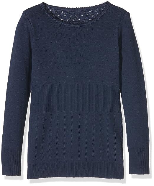 Noa Mini Basic Doria, Blusa para Niños, Azul (Dress Blue), 5