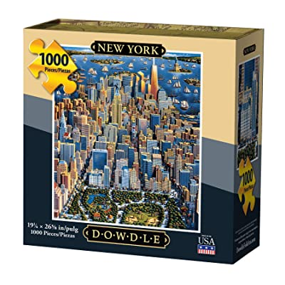 Dowdle Jigsaw Puzzle - New York - 1000 Piece: Toys & Games