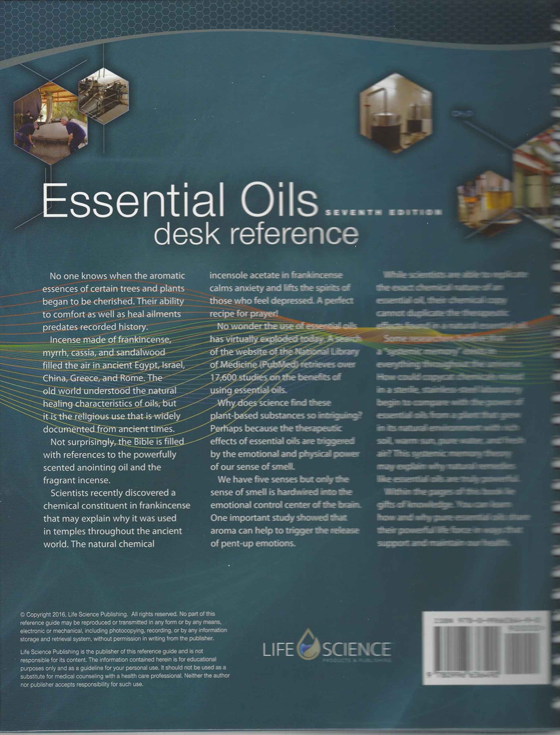 Essential Oils Desk Reference 7th Edition: Life Science Publishing:  9780996636490: Amazon.com: Books