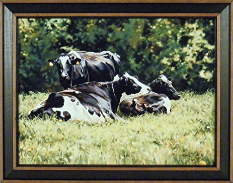 Amazon.com: The Beautiful Cow by Bonnie Mohr 15x19 Black and White ...