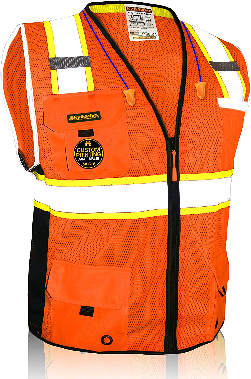 Small Product Image of KwikSafety BIG KAHUNA Class 2 Reflection Protection Vest